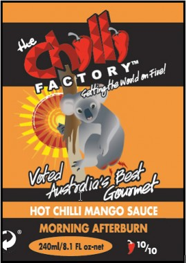New labels The Chilli Factory
